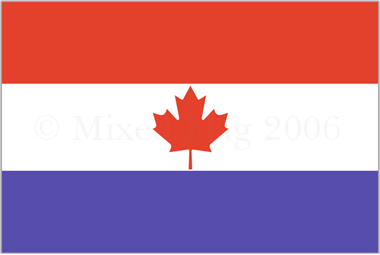 Canada and Netherlands flags