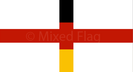 England and Germany flags
