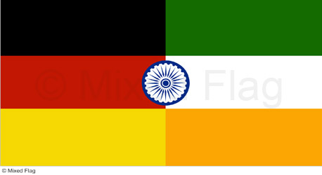 Germany and India flags