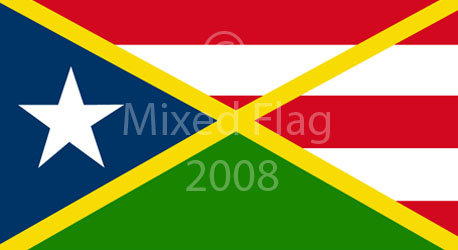 Jamaica Puerto Rico Flag Design